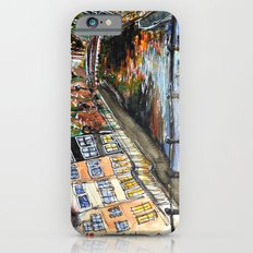 Amsterdam Watercolor Painting iPhone 6 Slim Case