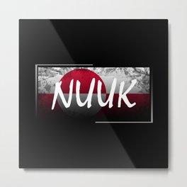 Nuuk Metal Print