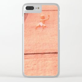 Childhood of humankind: Still crawling Clear iPhone Case
