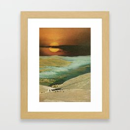 a better year than years past Framed Art Print