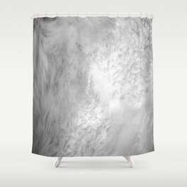 You Too Can Wear Fur! Shower Curtain