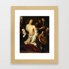 Salomon de Bray - The Martyrdom of Saint Lawrence Framed Art Print