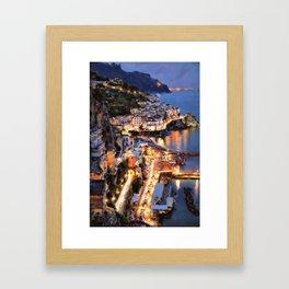 Amalfi, Italy Framed Art Print