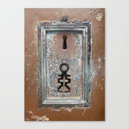 Keyholes Canvas Print
