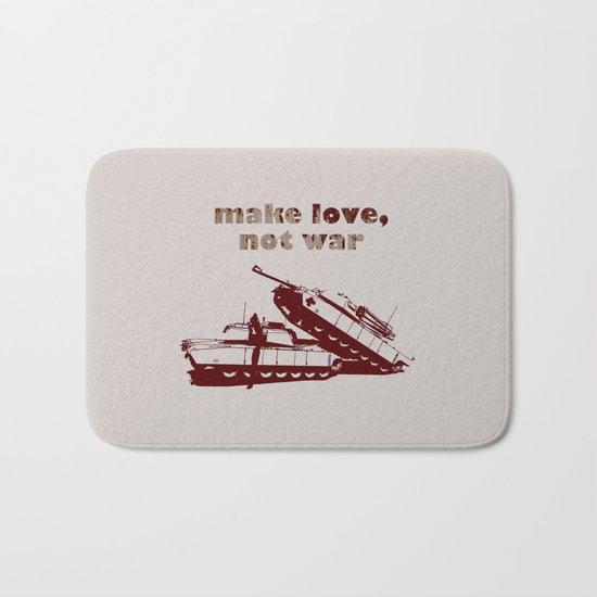 Make love, not war! Bath Mat