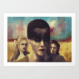 Mad Max Girls Art Print