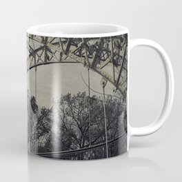 Rustic Steel Bridge Architectural Industrial A173 Coffee Mug