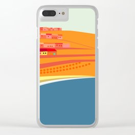 Rosarito Seashore Clear iPhone Case