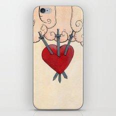 Tarot - 3 of Swords iPhone & iPod Skin