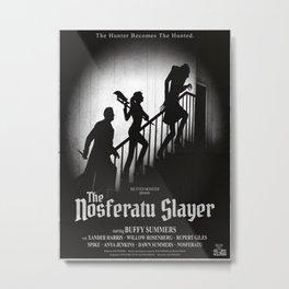 The Nosferatu Slayer Metal Print