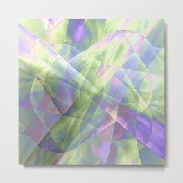 Fabric Overload! Metal Print