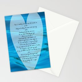 Upon Love's Ocean Stationery Cards