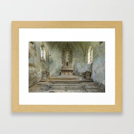 Chapelle du Trône Framed Art Print