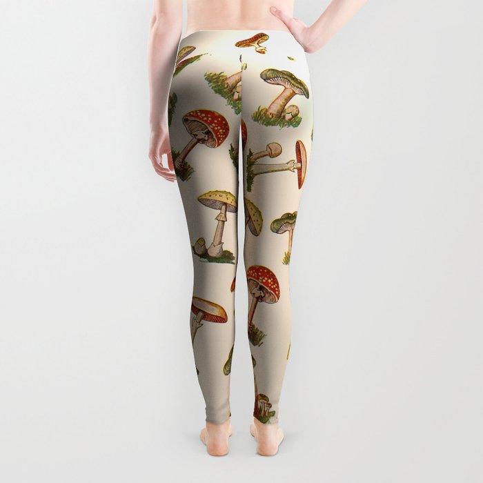 Magical Mushrooms Leggings
