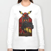 "umbreon Long Sleeve T-shirts featuring Rule 63: Umbreon by Barbora ""Mad Alice"" Urbankova"