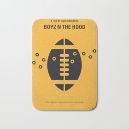 No352 My Boyz N The Hood minimal movie poste Bath Mat