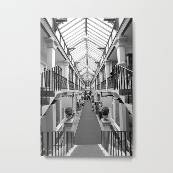 Clifton Arcade Metal Print