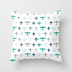 Planes Throw Pillow