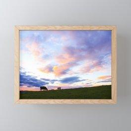 Sonoma County Sunset Framed Mini Art Print