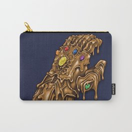 Melted Infinity Gauntlet Carry-All Pouch