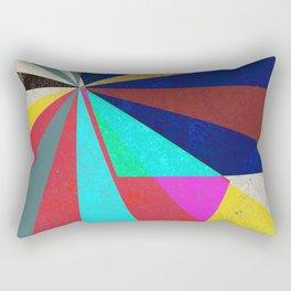 Retro Series 17 - Whirl Colours design Rectangular Pillow