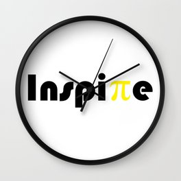 Inspire Pi Day Math Teacher Or Math Student Wall Clock
