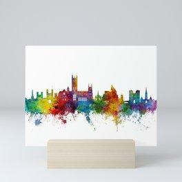 Canterbury England Skyline Mini Art Print