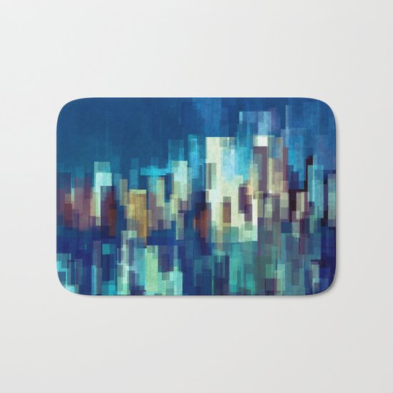 City Nights Bath Mat