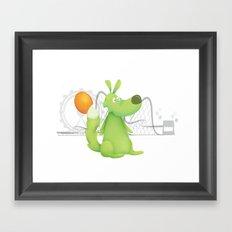 Feeling Green... Framed Art Print
