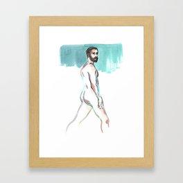 SCOTT, Nude Male by Frank-Joseph Framed Art Print