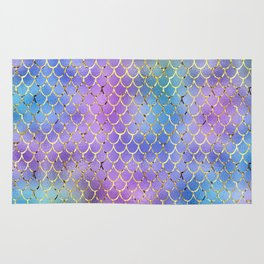 Cotton Candy Mermaid Rug