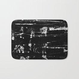 Distressed Grunge 102 in B&W Bath Mat