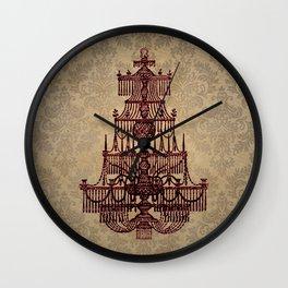 Vintage Chandelier Wall Clock