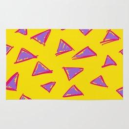 Sketchy Triangles Rug