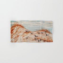 Black Skimmers Nesting Colony   Hand & Bath Towel