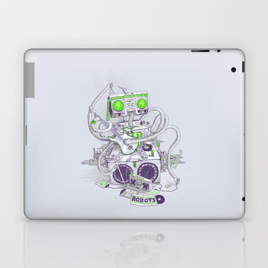Hippy robot Laptop & iPad Skin