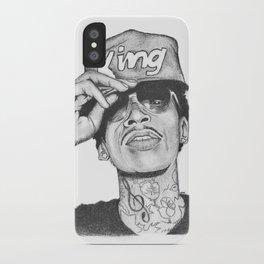 Wiz khalifa fan art iPhone Case