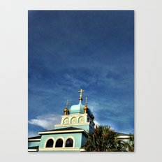 Russian place of Worship Canvas Print