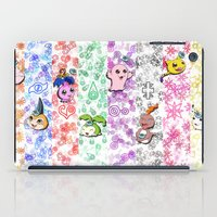 digimon iPad Cases featuring Digimon 15th Anniversary by AbigailC