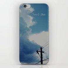Mainstage cloud iPhone & iPod Skin