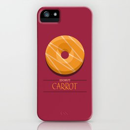 1DONUT - Carrot iPhone Case