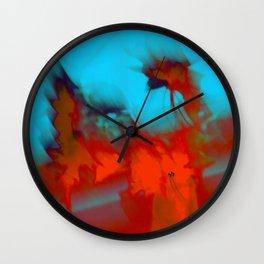 Flouers Wall Clock