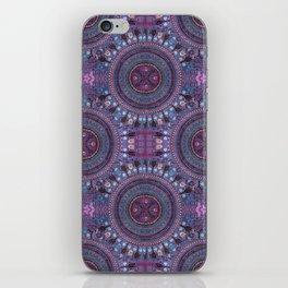Purple Mandalas Boho Style iPhone Skin