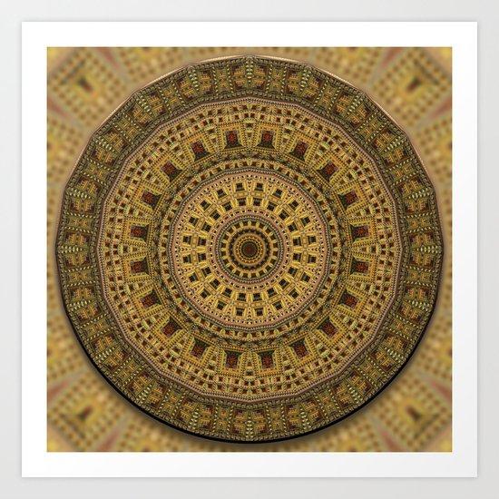 My Mandala Art Print