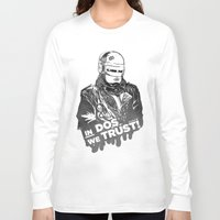 robocop Long Sleeve T-shirts featuring Robocop  by Superdroso
