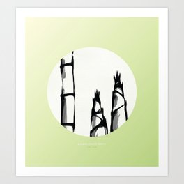 [5.15—5.20] Bamboo Shoots Sprout Art Print