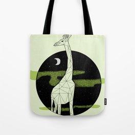 Giraffe in geometric style Tote Bag