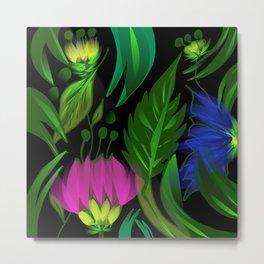 Floral,tropical design Metal Print