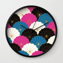 Japanese Chrysanthemum 2 Wall Clock