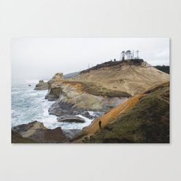 Cliffs of Cape Kiwanda Canvas Print